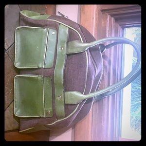 Handbag and matching wallet